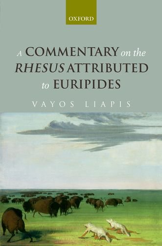 9780199591688: A Commentary on the Rhesus Attributed to Euripides