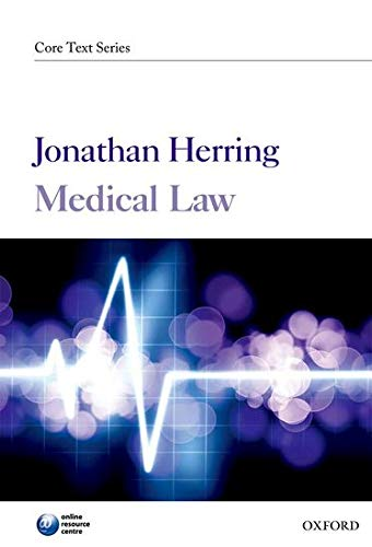 9780199592531: Medical Law (Core Text)
