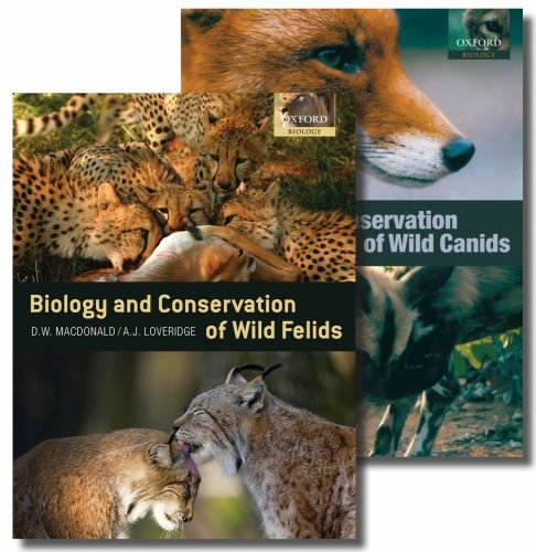 9780199592838: Biology and Conservation of Wild Carnivores: The Canids and the Felids Two-Volume Set