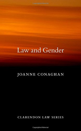 9780199592920: Law and Gender (Clarendon Law Series)