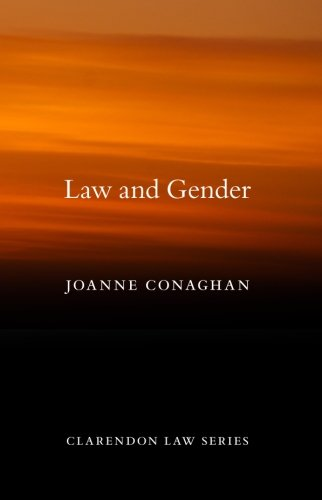 9780199592937: Law and Gender (Clarendon Law Series)