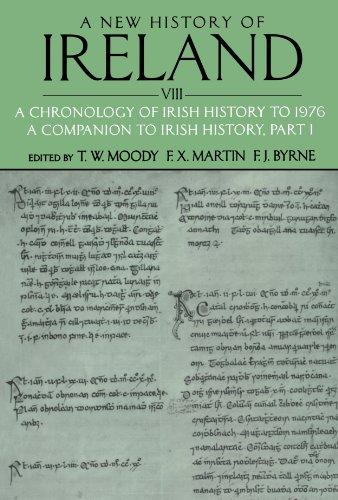 9780199593057: 8: A New History of Ireland, Volume VIII: A Chronology of Irish History to 1976: A Companion to Irish History, Part I (Volume 8)