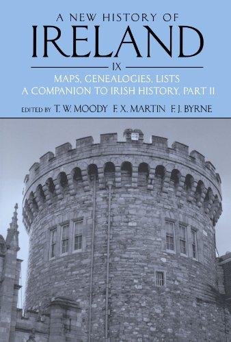 9780199593064: 9: A New History of Ireland, Volume IX: Maps, Genealogies, Lists: A Companion to Irish History, Part II