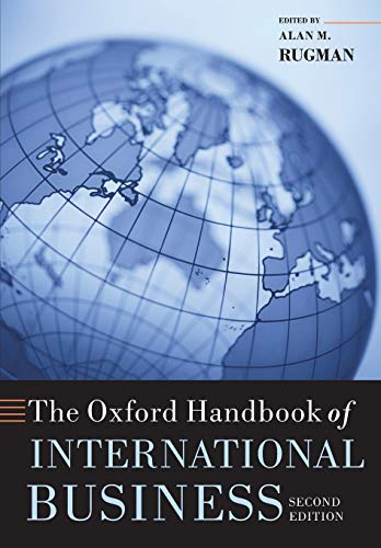 9780199593446: The Oxford Handbook of International Business (Oxford Handbooks)