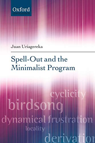 9780199593538: Spell-Out and the Minimalist Program (Oxford Linguistics)