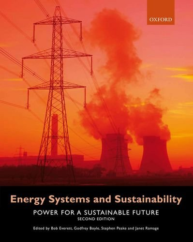9780199593743: Energy Systems and Sustainability: Power for a Sustainable Future