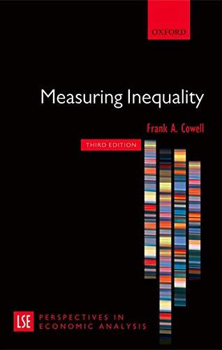 9780199594030: Measuring Inequality (London School of Economics Perspectives in Economic Analysis)
