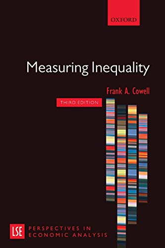 9780199594047: Measuring Inequality (London School of Economics Perspectives in Economic Analysis)