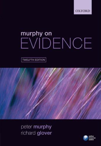 9780199594672: Murphy on Evidence