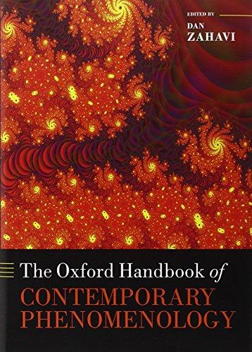 9780199594900: The Oxford Handbook of Contemporary Phenomenology