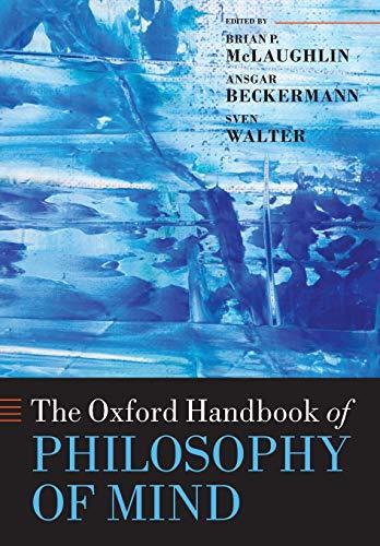 9780199596317: The Oxford Handbook of Philosophy of Mind (Oxford Handbooks)