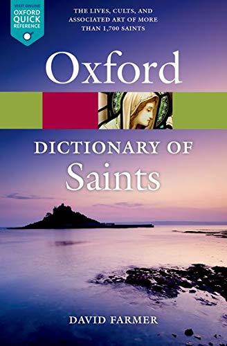 9780199596607: The Oxford Dictionary of Saints, Fifth Edition Revised