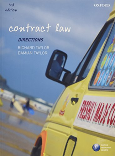 9780199597208: Contract Law Directions