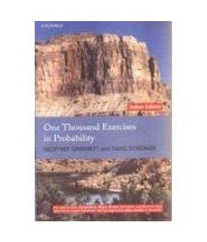 9780199597291: One Thousand Exercises in Probability
