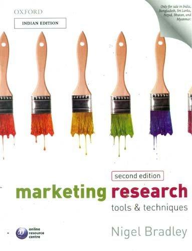 9780199597352: Marketing Research: Tools & Techniques 2/E