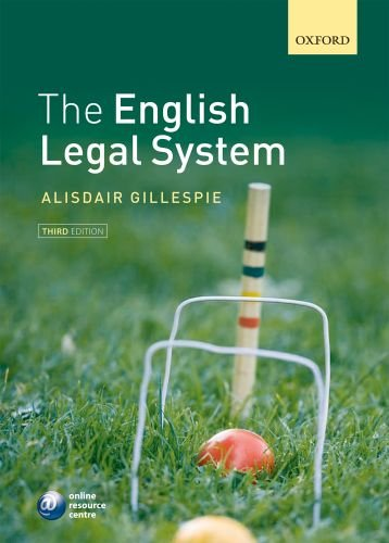 9780199599165: The English Legal System