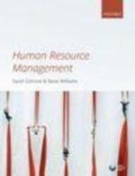 Human Resource Management: Sarah Gilmore,Steve Williams
