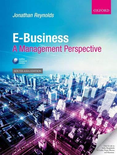 9780199599202: E-Business: A Management Perspective