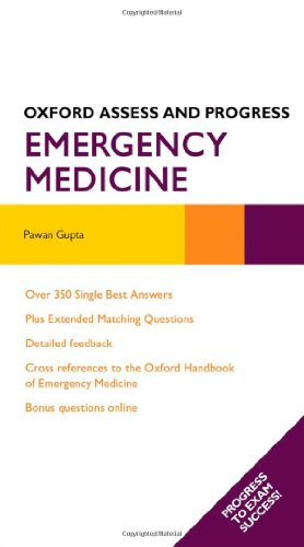 9780199599530: Emergency Medicine (Oxford Assess and Progress)