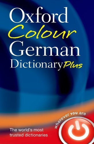 9780199599547: Oxford Colour German Dictionary Plus