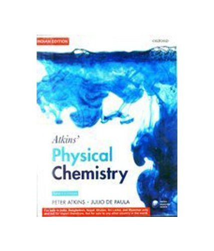 9780199599592: Atkins' Physical Chemistry