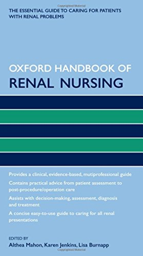 9780199600533: Oxford Handbook of Renal Nursing (Oxford Handbooks in Nursing)