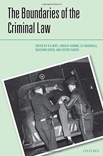 9780199600557: The Boundaries of the Criminal Law (Criminalization)