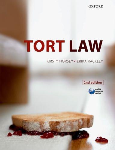 9780199600779: Tort Law