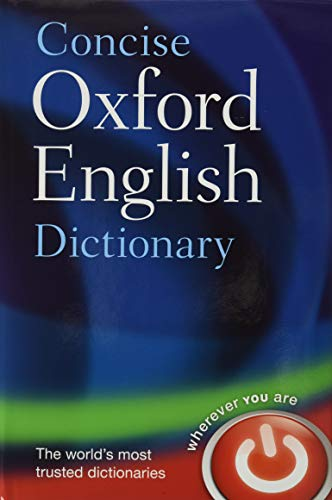9780199601080: Concise Oxford english dictionary