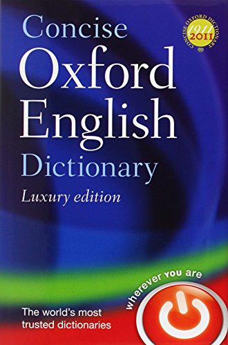9780199601110: Concise Oxford English Dictionary Luxury Edition
