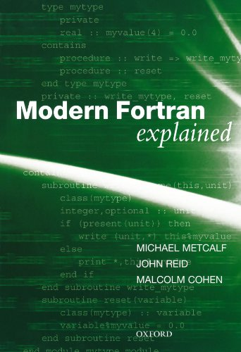 9780199601424: Modern Fortran Explained (Numerical Mathematics and Scientific Computation)