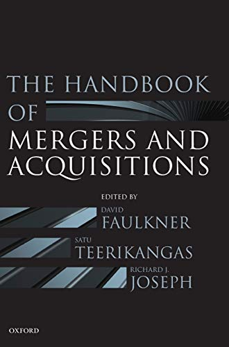 9780199601462: The Handbook of Mergers and Acquisitions