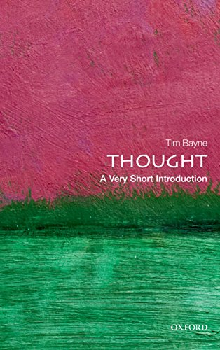 9780199601721: Thought: A Very Short Introduction (Very Short Introductions)