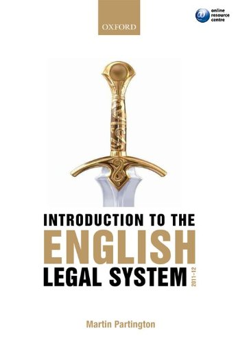 9780199601806: Introduction to the English Legal System