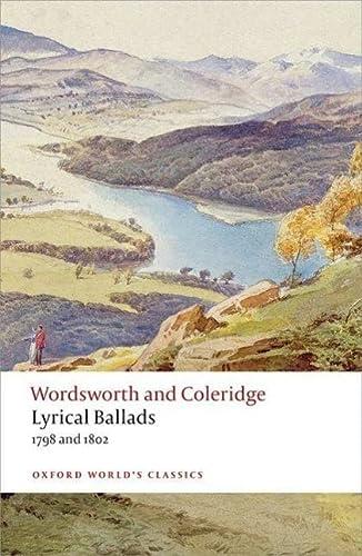 Lyrical Ballads: Wordsworth, William; Coleridge,
