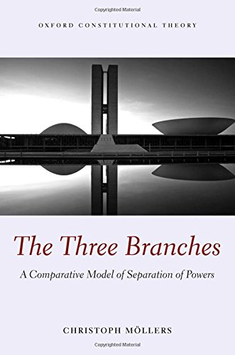 9780199602117: The Three Branches: A Comparative Model of Separation of Powers (Oxford Constitutional Theory)