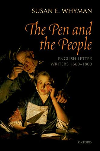 9780199602186: The Pen and the People: English Letter Writers, 1660-1800