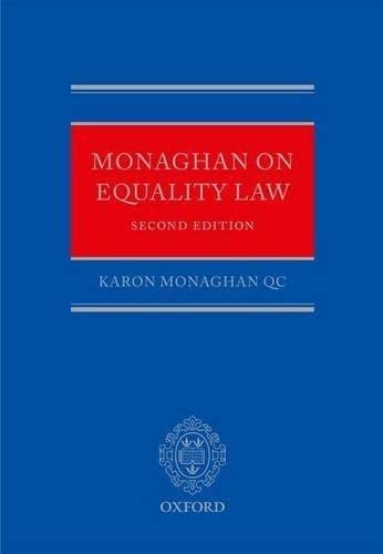 9780199603237: Monaghan on Equality Law