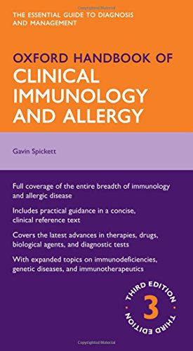 9780199603244: Oxford Handbook of Clinical Immunology and Allergy (Oxford Medical Handbooks)