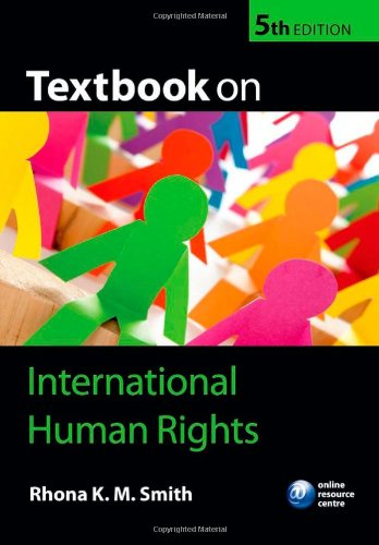 9780199603343: Textbook on International Human Rights