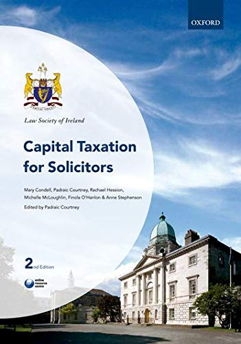 9780199603428: Capital Taxation for Solicitors (Law Society of Ireland Manuals)