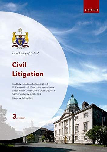 9780199603435: Civil Litigation (Law Society of Ireland Manuals)