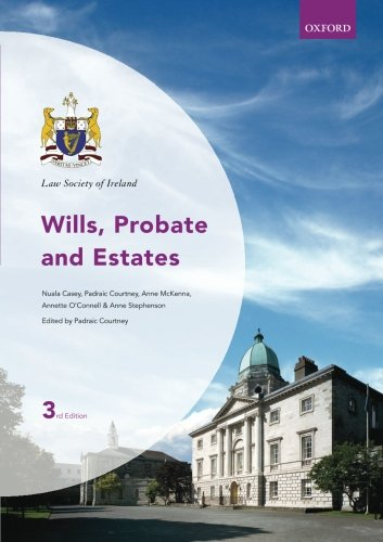 9780199603442: Wills, Probate and Estates (Law Society of Ireland)