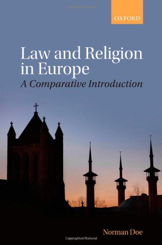 9780199604012: Law and Religion in Europe: A Comparative Introduction
