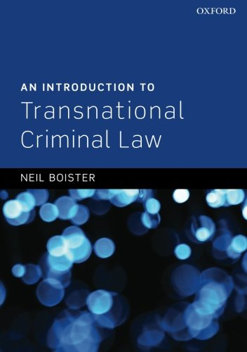 9780199605392: An Introduction to Transnational Criminal Law