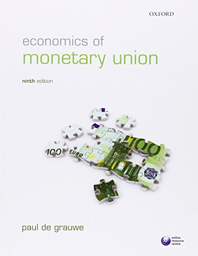 9780199605576: Economics of Monetary Union