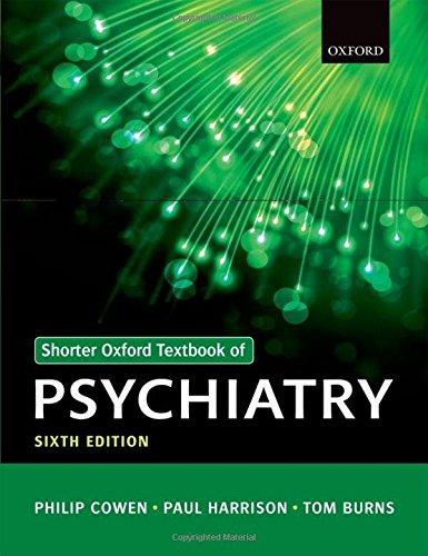 9780199605613: Shorter Oxford Textbook of Psychiatry