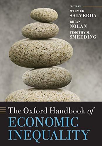 9780199606061: The Oxford Handbook of Economic Inequality (Oxford Handbooks in Economics)