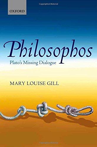9780199606184: Philosophos: Plato's Missing Dialogue