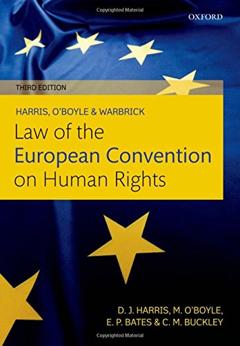 9780199606399: Harris, O'Boyle, and Warbrick Law of the European Convention on Human Rights